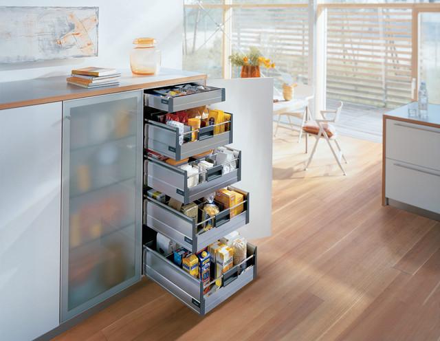 Blum kitchen accessories-storage drawers - Contemporary ...