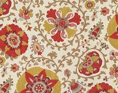 Silsila / Curry  upholstery fabric