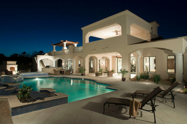 Home Lighting Systems traditional-pool