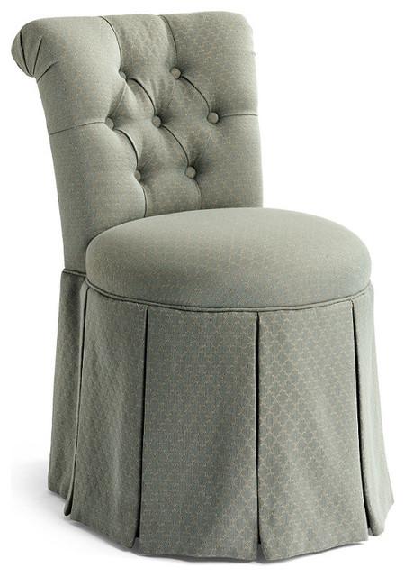 Sandra Vanity Stool Frontgate Traditional Vanity  : traditional bathroom stools from www.houzz.com size 450 x 640 jpeg 83kB
