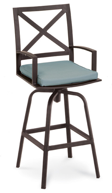 Terrace Outdoor Swivel Bar Stool Contemporary Outdoor  : contemporary outdoor bar stools and counter stools from www.houzz.com size 372 x 640 jpeg 38kB