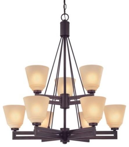 Olympic 2-Tier Chandelier modern-chandeliers