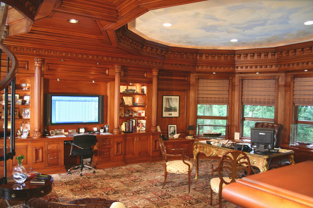 Residential Office, Rumson, NJ traditional-home-office