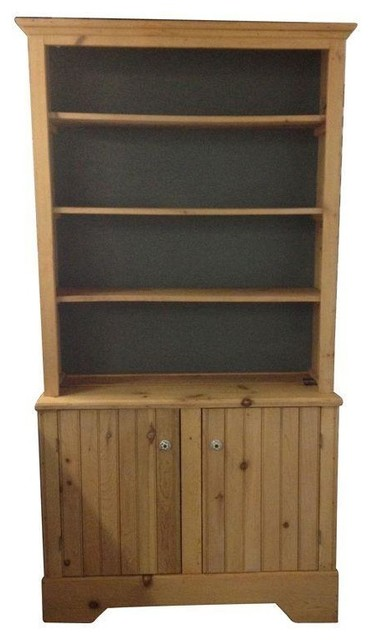 Reclaimed Wood Hutch Cabinet - Rustic - China Cabinets And Hutches - by Chairish
