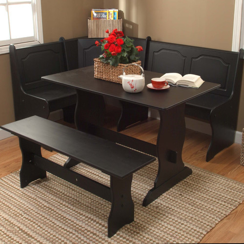 Nook 3 Piece Dining Set modern-dining-tables