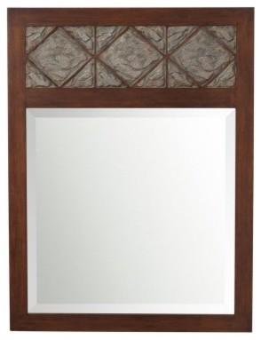 Clark Rectangle Wall Mirror - 30W x 40H in. modern-mirrors