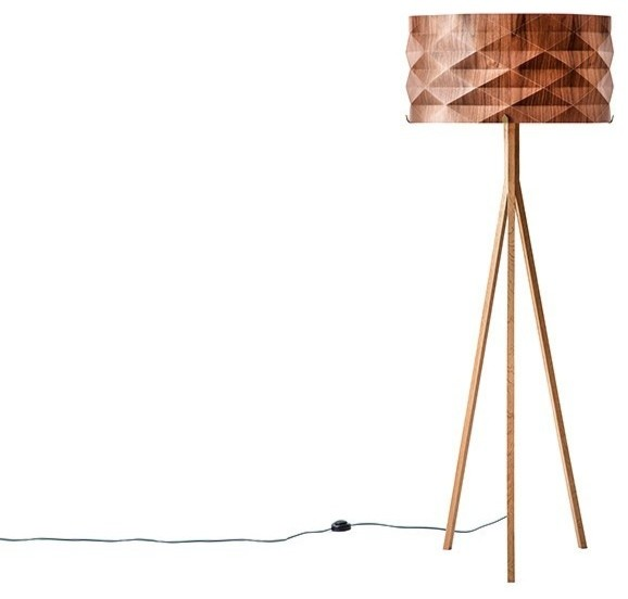 Ariel zuckerman standing medium lamp walnut modern floor lamps south west by beut - Factors to consider when buying a floor lamp ...
