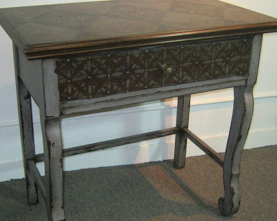 Hand Painted Accent Table / Desk / Console -