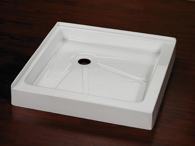 "Fleurco Square Double Threshold 42"" x 42"" Acrylic Shower ..."