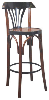 Authentic Models Black & Honey De Luxe Barstool traditional-kids-toys