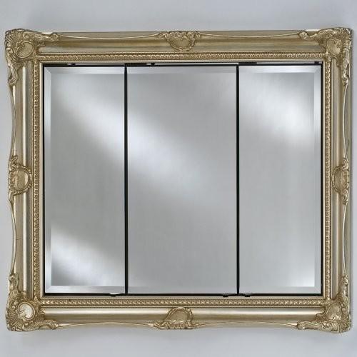 Afina Vanderbilt Large Triple Door Recessed Royale Medicine Cabinet - 51W x 40H - Traditional ...