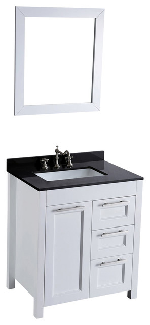 30'' Bosconi SB-267-1 Vanity Set transitional-bathroom-vanities-and-sink-consoles