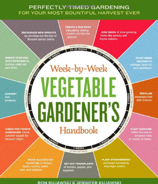 The Week-by-Week Vegetable Gardeners Handbook contemporary books