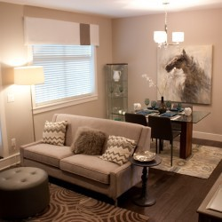 Abbotsford new townhomes modern-family-room