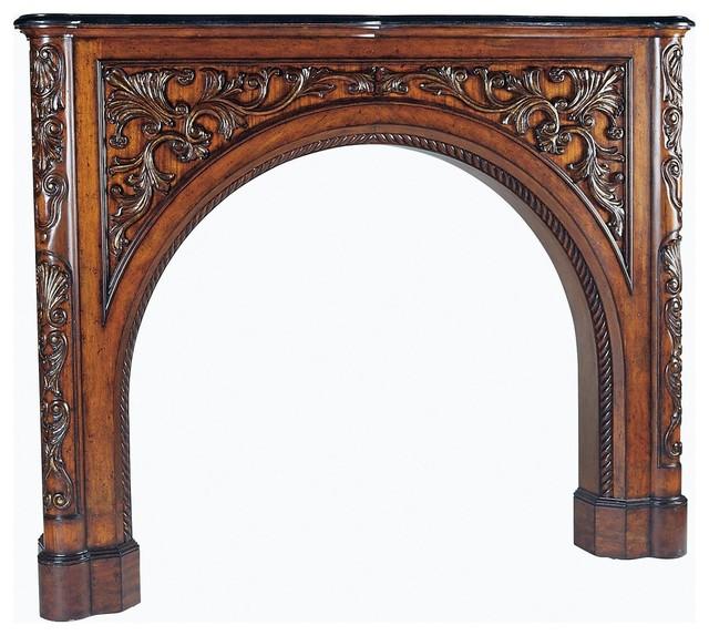 New Ambella Home Fireplace Surround traditional-fireplace-mantels