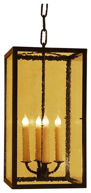 Traditional Foyer Chandeliers : Laura lee monterey lantern light foyer chandelier
