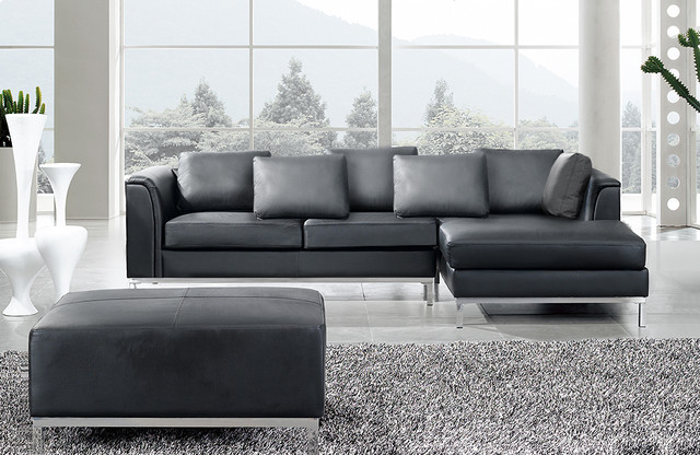 Leather sofas contemporary sectional sofas by for Designer sofa outlet