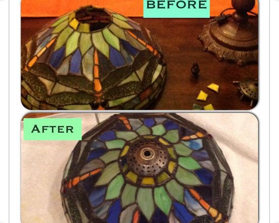 Stained Glass Repair -