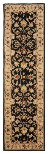 Heritage Black/Gold Rug modern-rugs