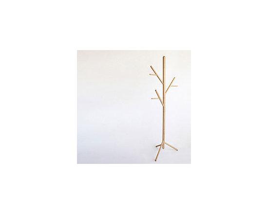 top3 by design - DesignByThem - Sarah + Nick - stem tree coat stand natural -