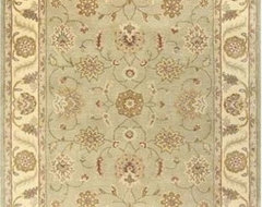 Momeni Mahal Amir Light Green MC-24 Persian Rug traditional rugs