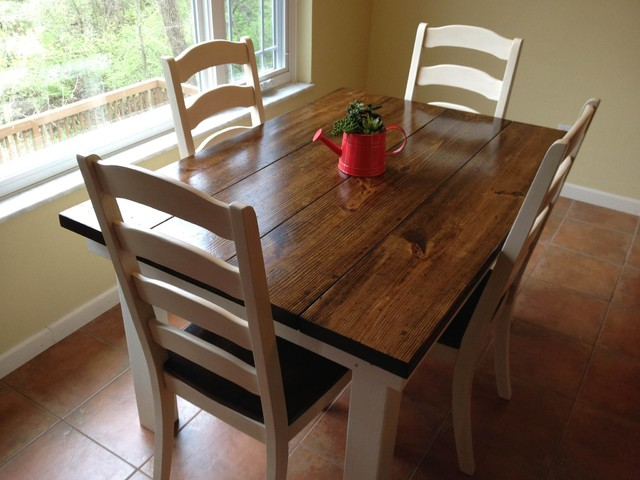 4 Breakfast Nook Farmhouse Table Dining