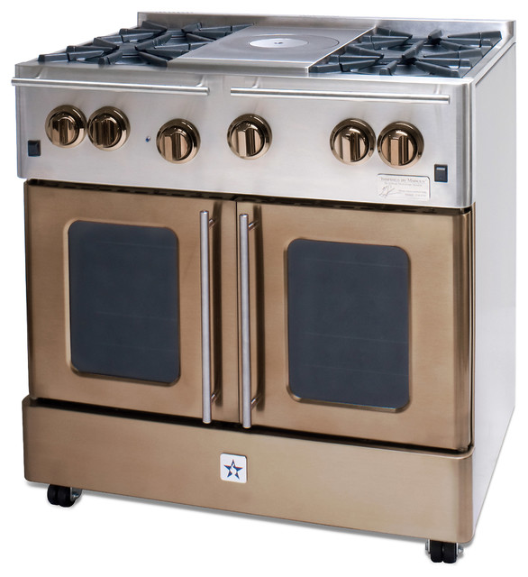 BlueStar Enchanted Sand 36 Gas Range
