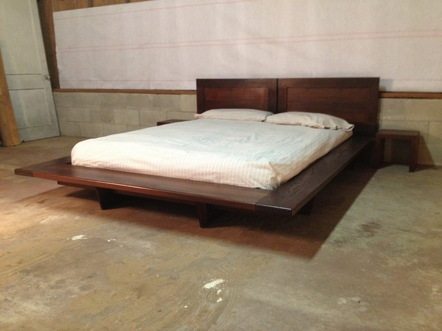 Floating Platform Bed - Contemporary - Platform Beds ...