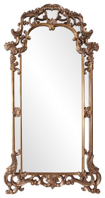 Imperial Rectangular Framed Floor Mirror contemporary-mirrors