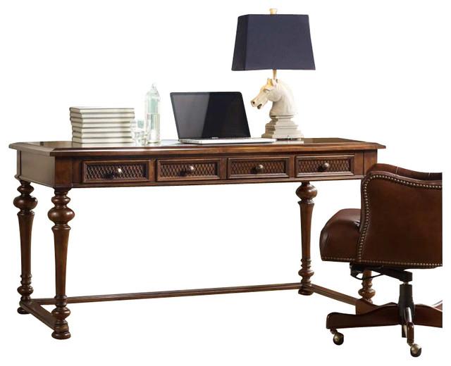 Hooker Furniture Lassiter 60 Inch Writing Desk in Cherry