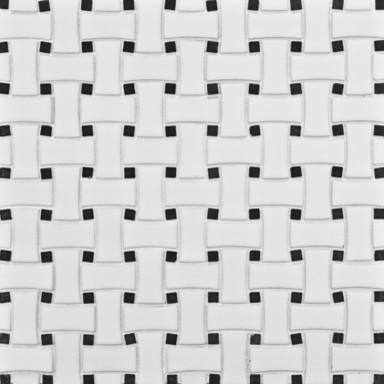 Michael S Smith Mosaic Basketeave Ceramic Tile - Ann Sacks Tile & Stone modern-mosaic-tile