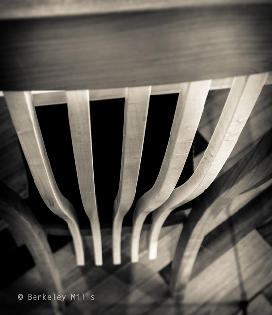 Detail of Harp Chair contemporary-furniture