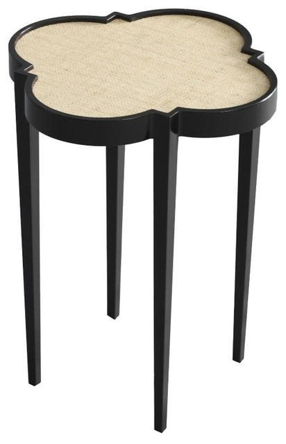 Tini Table IV - Tricorn Black with Gator traditional-side-tables-and-end-tables