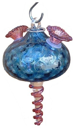 """""""Precious"""" Hummingbird Feeder eclectic-bird-feeders"""