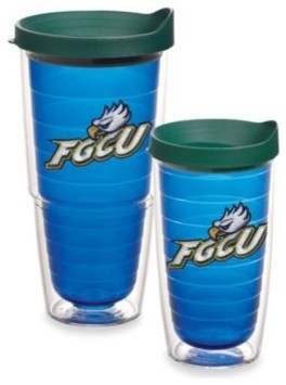 Tervis Florida Gulf Coast University Tumbler with Lid in Sapphire contemporary-mugs