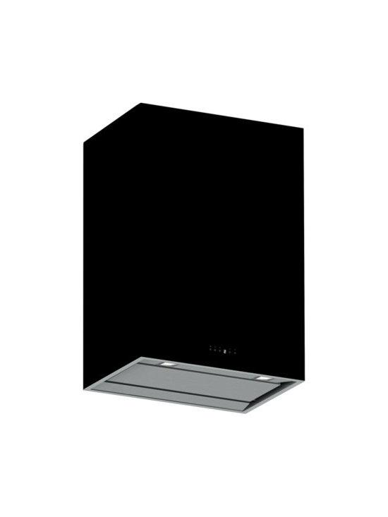 Futuro Futuro 36-inch Lombardy Black Wall Range Hood - Type: Wall mount