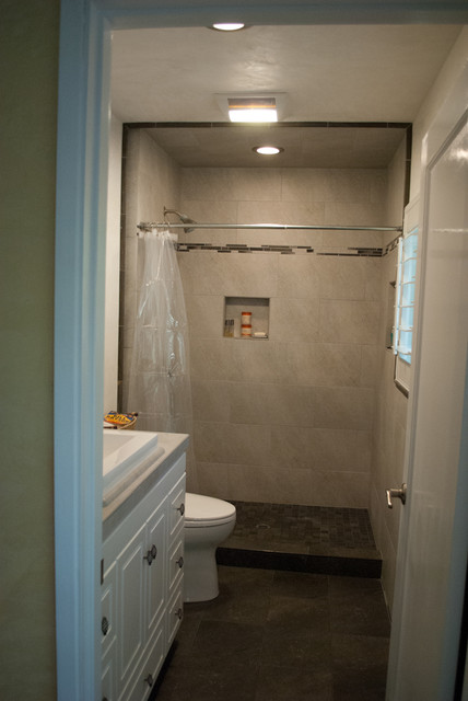 Small Bathroom Tile Design Traditional San Francisco