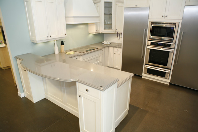 Countertops Kitchen Options : Seifer Countertop Ideas - Traditional - Kitchen Countertops - new york ...