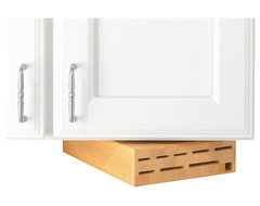 Wusthof Under-Cabinet Swinger Block contemporary storage and organization