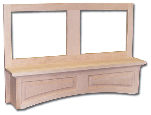 Arched Valance Canopy Hood Front