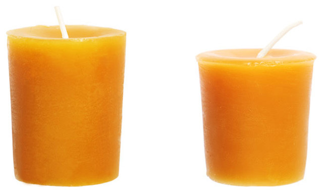 traditional candles and candle holders by Kaufmann Mercantile