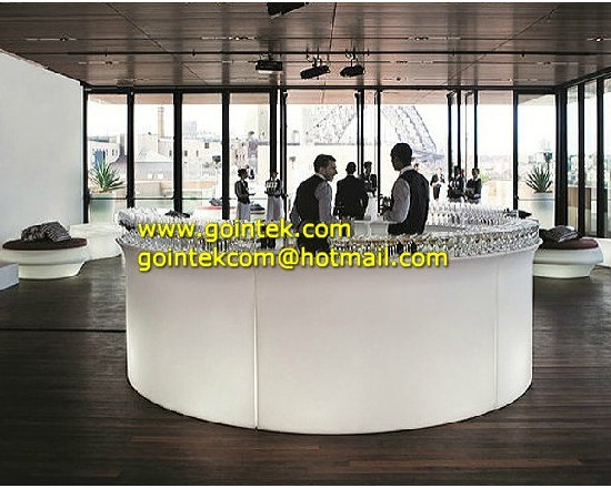 LED Bar Counter For Serving Drinks With Remote Control -