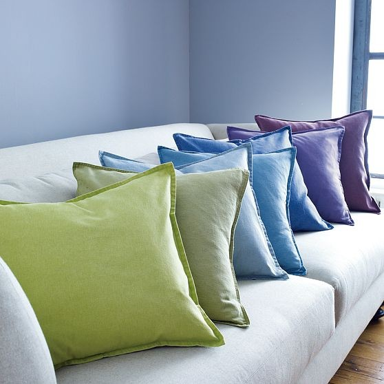 Washed Linen/Cotton Pillow Covers modern pillows