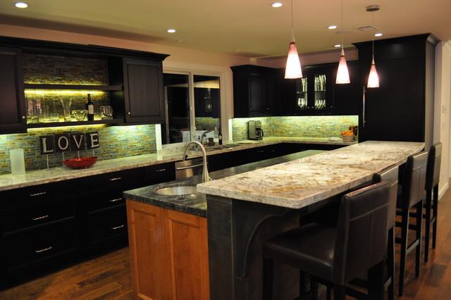 Carmichael Residence. Nar Fine Carpentry. Sacramento. El Dorado Hills eclectic-kitchen