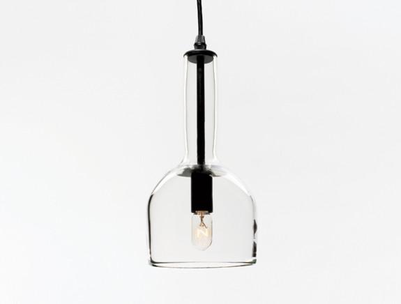 Bell Jar Pendant Lighting contemporary-pendant-lighting