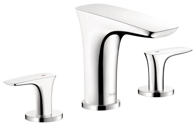 Hansgrohe 15446001 PuraVida Trim 4 Hole Roman Tub Set in Chrome modern-bathroom-faucets-and-showerheads
