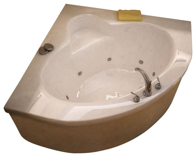 atlantis tubs 6060awl alexandria 60x60x23 inch corner