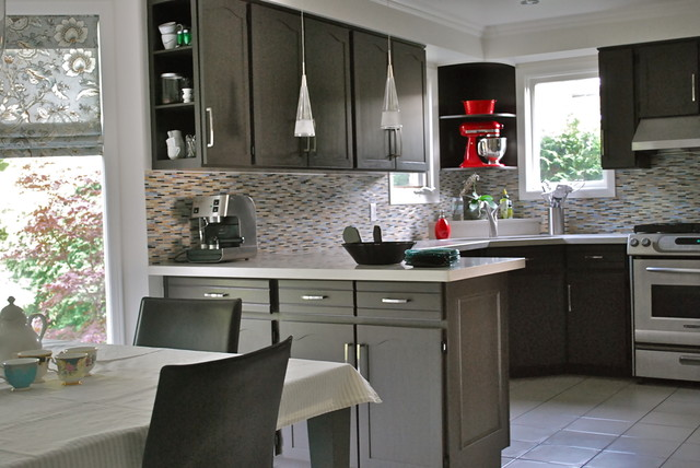 Modern kitchen reno for Kitchen cabinets reno