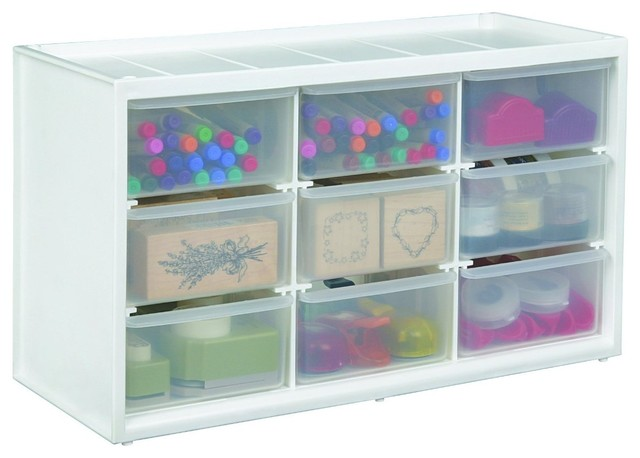 Art Bin Store-In-Drawer Cabinet, Translucent - Contemporary - Storage And Organization - by Amazon