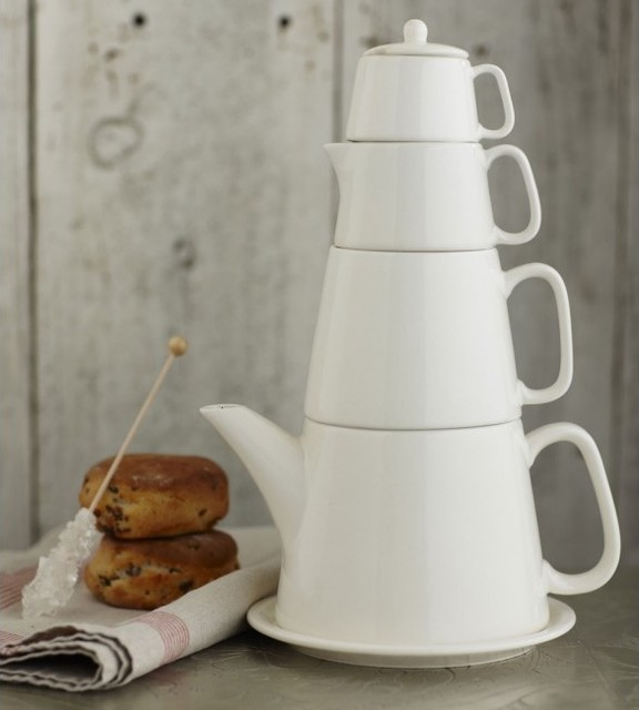Ceramic Tea Tower modern serveware